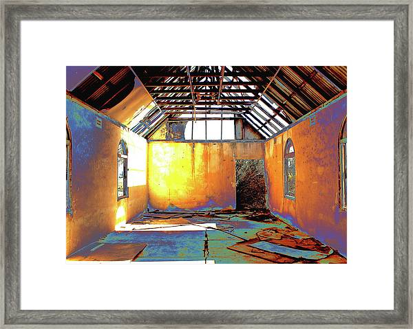 Abandoned Church Framed Print