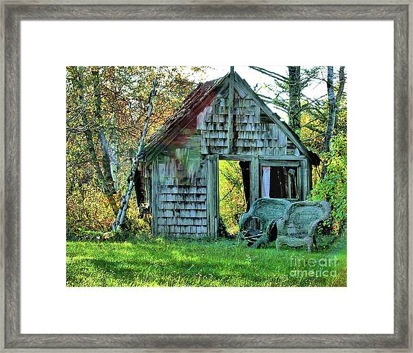 Abandoned Shack Framed Print
