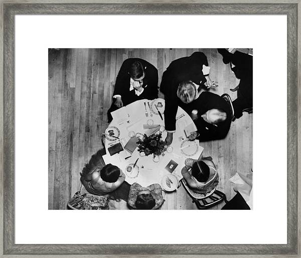 Above Waiting Framed Print