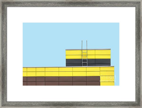 Abstract Architecture Picture Framed Print