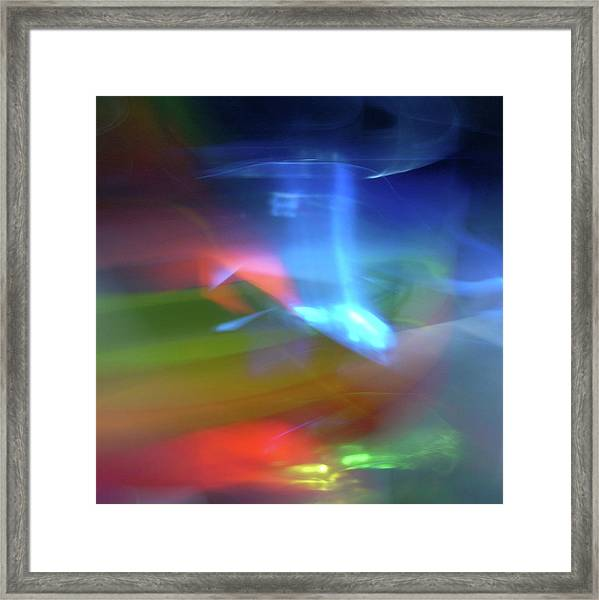 Abstract Color Framed Print by I Love Photo And Apple.
