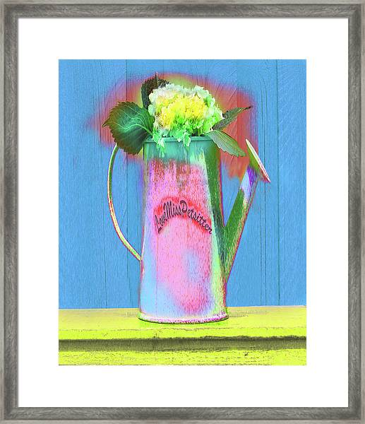 Abstract Floral Art 377 Framed Print