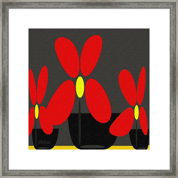 Abstract Floral Art 393 Framed Print