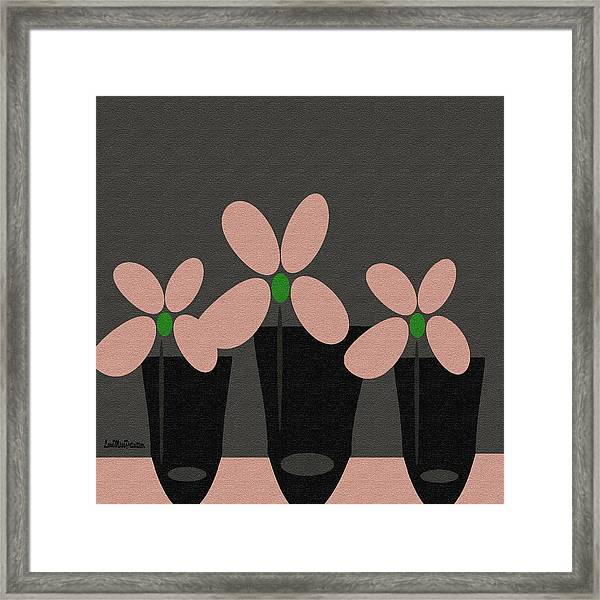 Abstract Floral Art 394 Framed Print