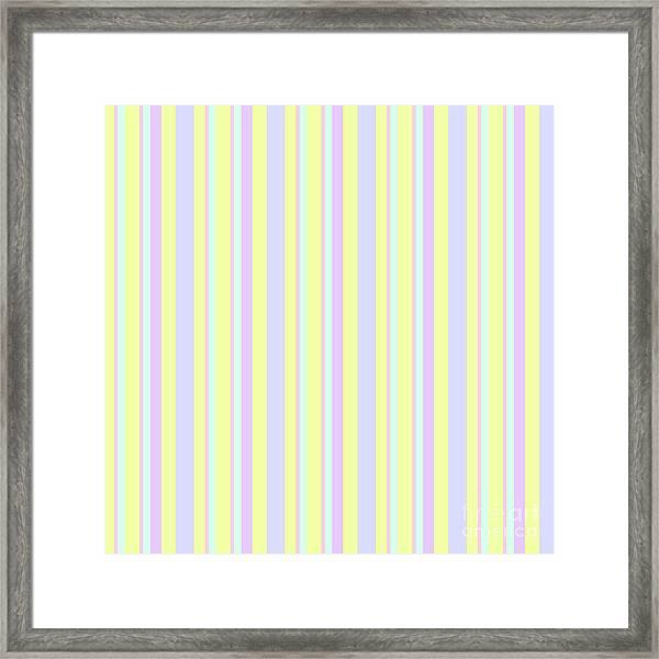 Abstract Fresh Color Lines Background - Dde595 Framed Print