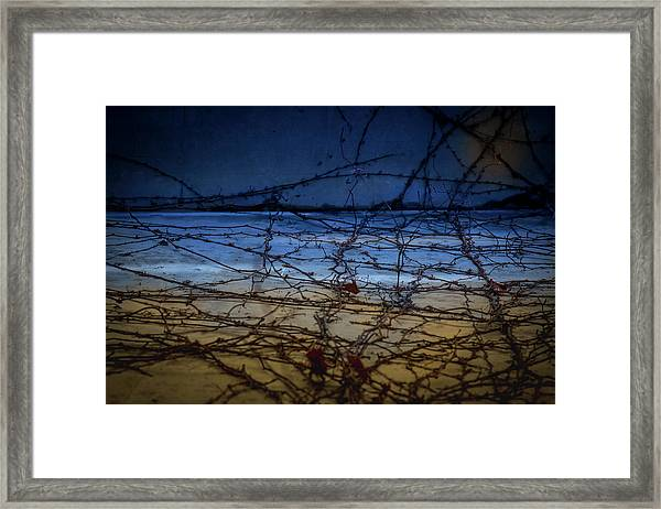 Framed Print featuring the photograph Abstract Landscape by Juan Contreras