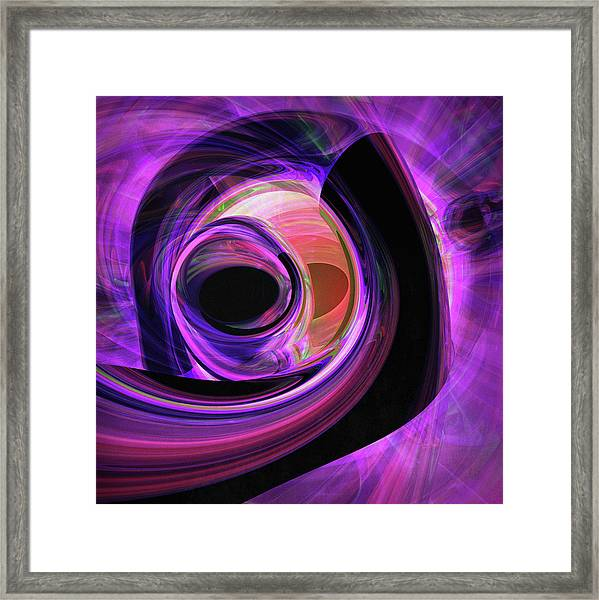 Abstract Rendered Artwork 3 Framed Print