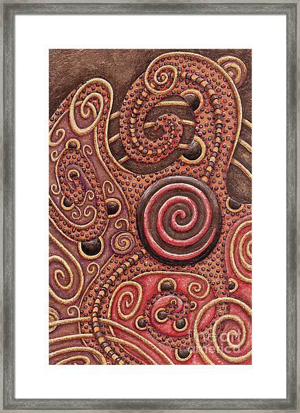 Abstract Spiral 12 Framed Print