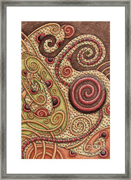 Abstract Spiral 4 Framed Print