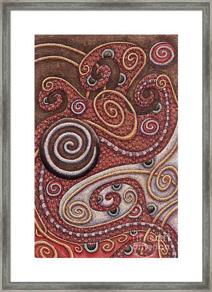 Abstract Spiral 6 Framed Print