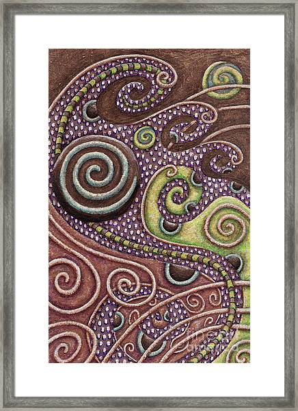 Abstract Spiral 7 Framed Print
