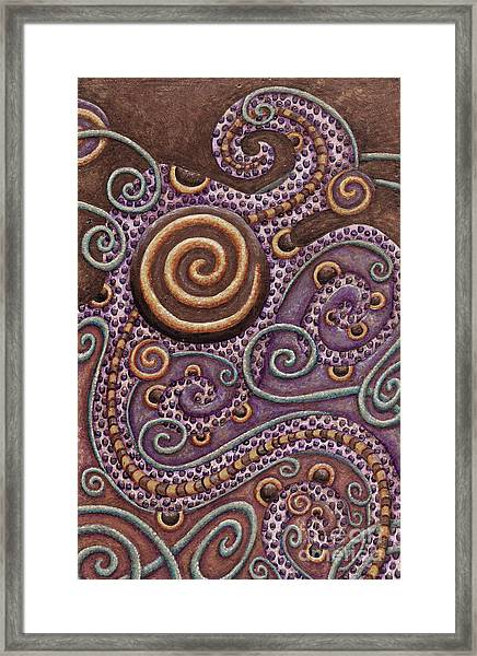 Abstract Spiral 8 Framed Print