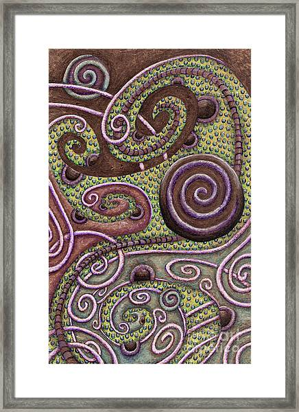 Abstract Spiral 9 Framed Print