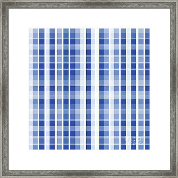 Abstract Squares And Lines Background - Dde609 Framed Print
