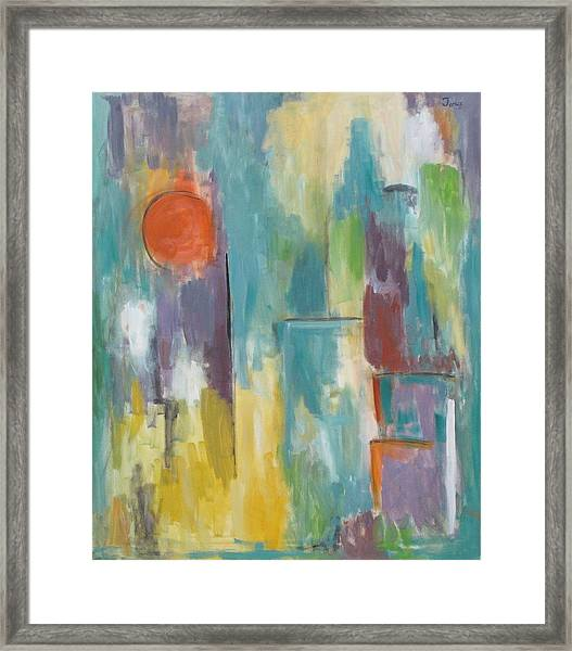 Abstraction II Framed Print
