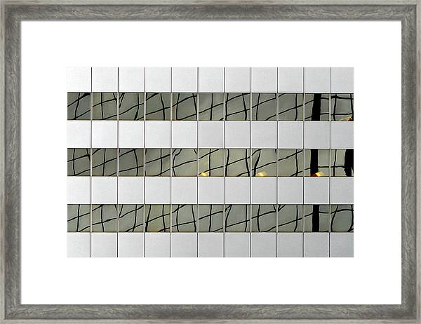 Abstritecture 13 Framed Print