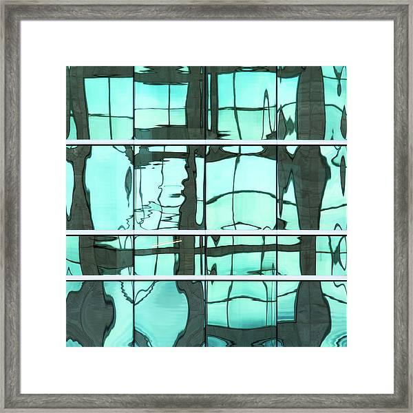 Abstritecture 36 Framed Print