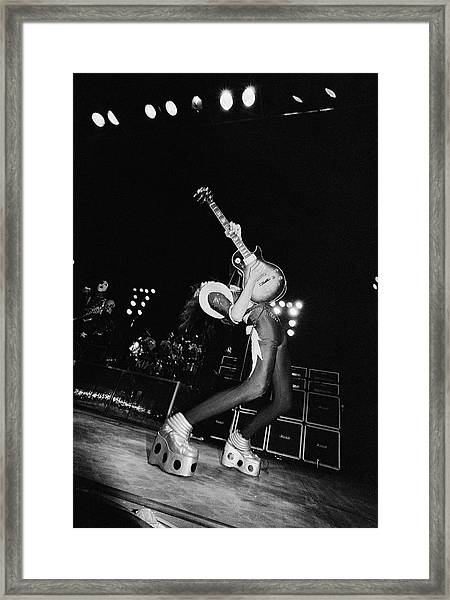 Ace Frehley Framed Print