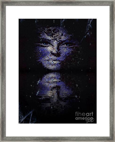 Act With Superficial Purpose Framed Print