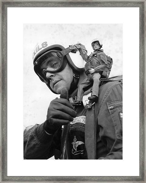Action Man Framed Print