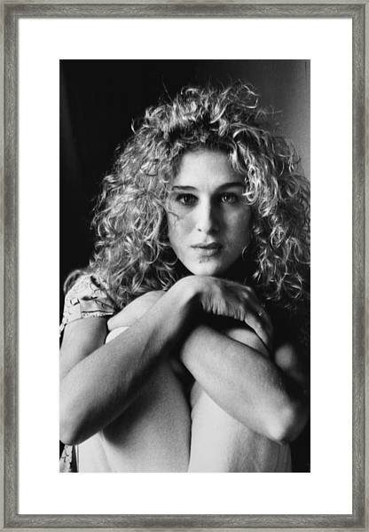 Actrees Sarah Jessica Parker, Star Of Framed Print