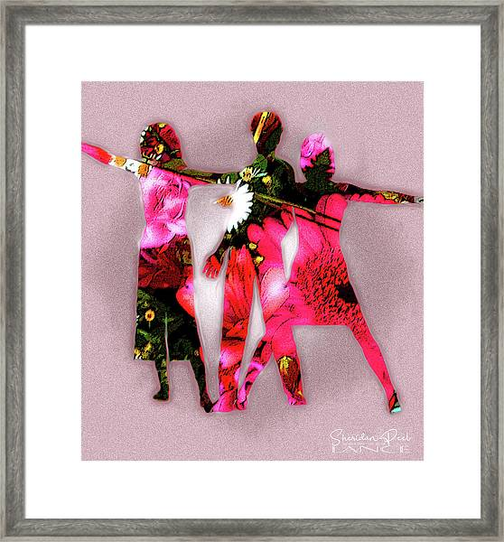 Ad Fashion Framed Print