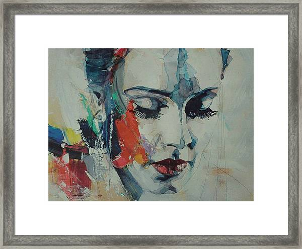 Adele - Make You Feel My Love  Framed Print