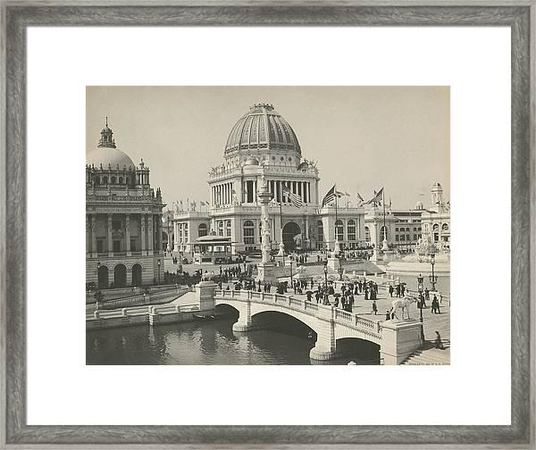 Admin. Building, Worlds Columbian Framed Print