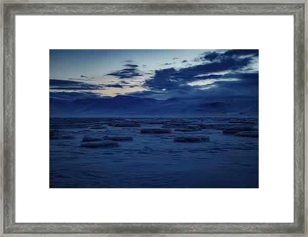 Adventfjorden  Framed Print