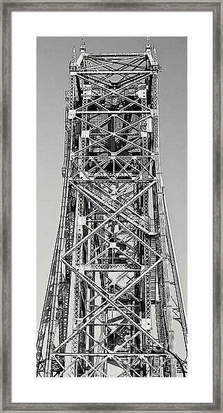 Aerial Lift Bridge-duluth, Mn Framed Print