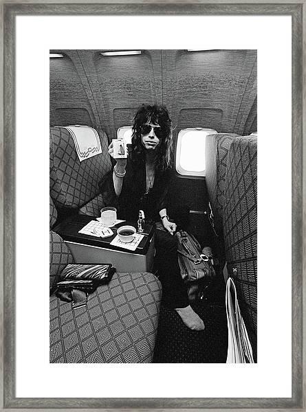 Aerosmith In Flight Framed Print