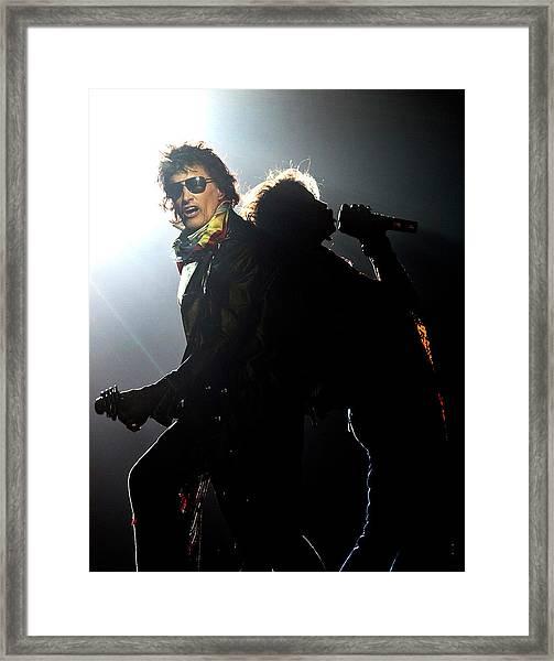Aerosmith Live In Arnhem Framed Print
