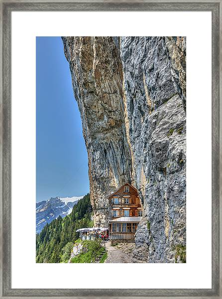Aescher - Switzerland Framed Print