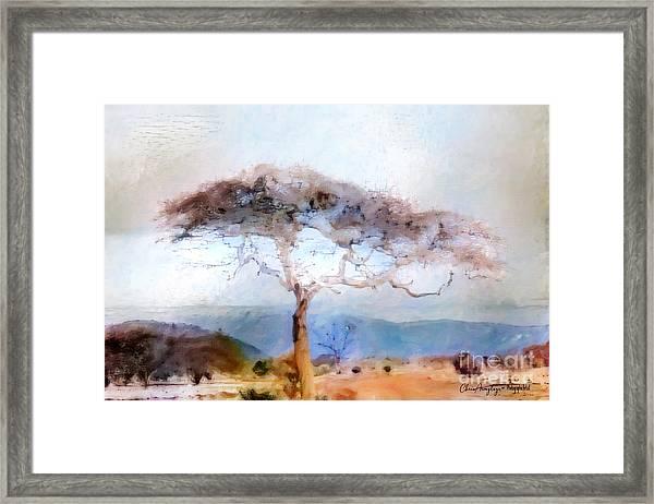 African Journey Framed Print