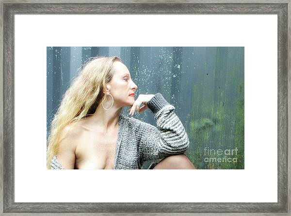 Ageless Beauty  Framed Print by ManDig Studios