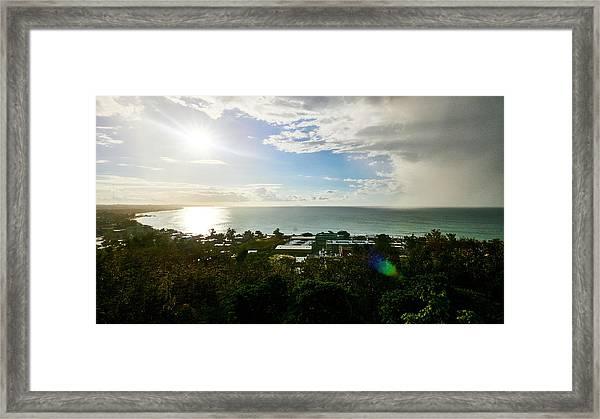 Aguada Sunset Framed Print