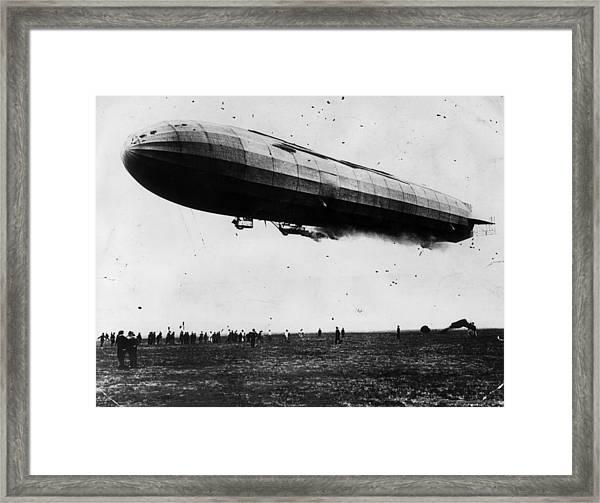 Air Warfare Framed Print by Hulton Archive