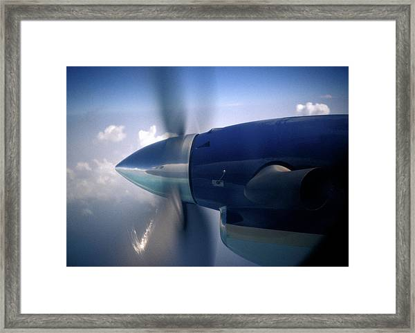 Airplane Propeller Framed Print