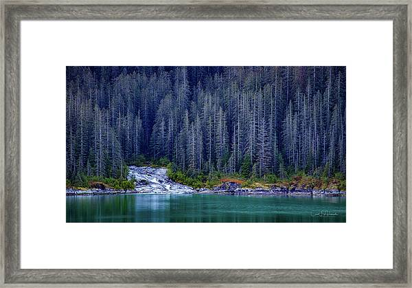 Alaskan Coastline Beauty Framed Print