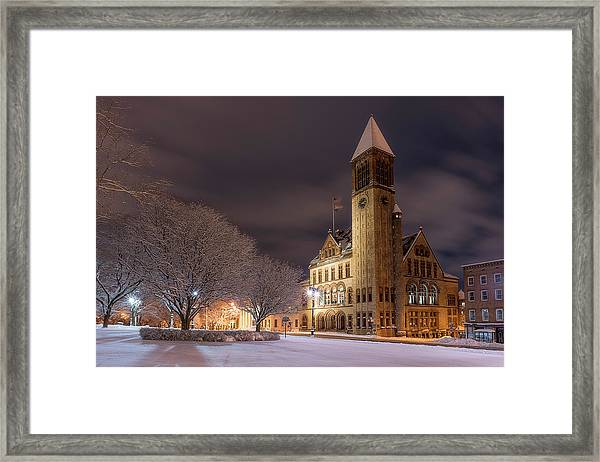 Albany City Hall Framed Print
