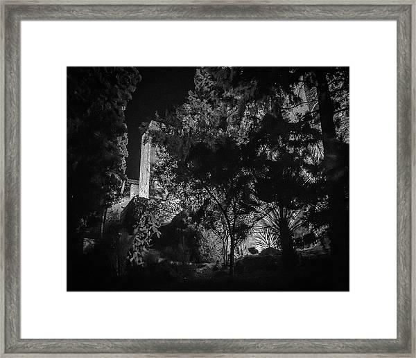 Alcazaba I Framed Print