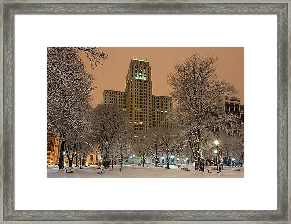 Alfred E. Smith Building Framed Print