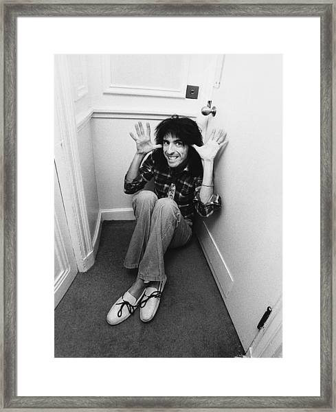 Alice Cooper At The Savoy Framed Print