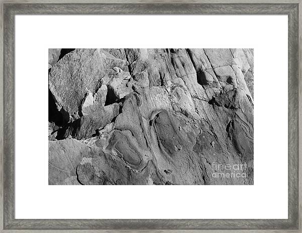 Alien Rock Framed Print