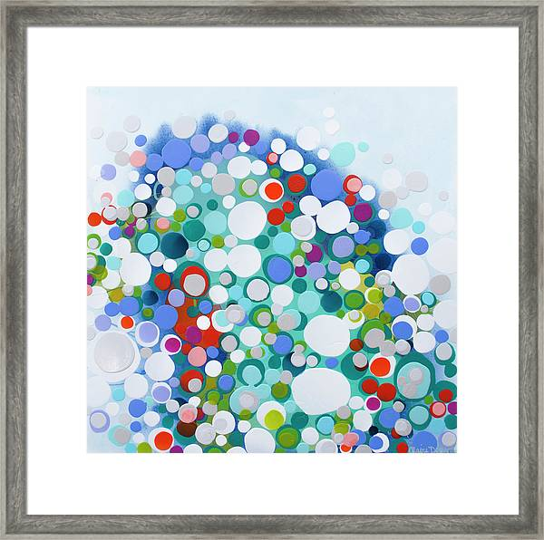All Of The Night Framed Print