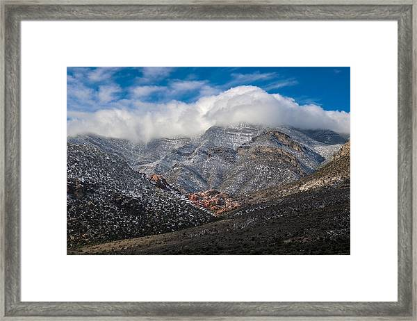 All The Colors Framed Print