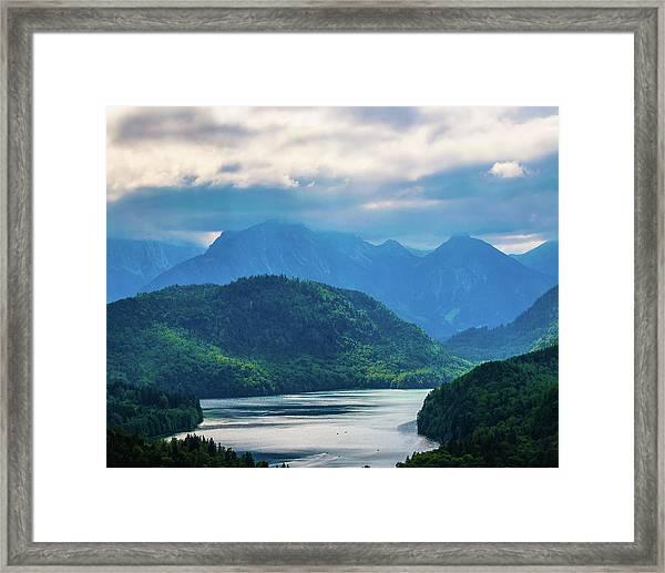 Alpsee Framed Print