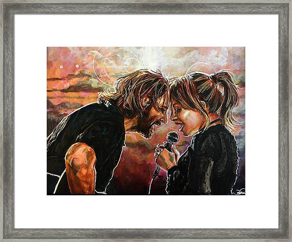 Always Remember Us This Way Framed Print