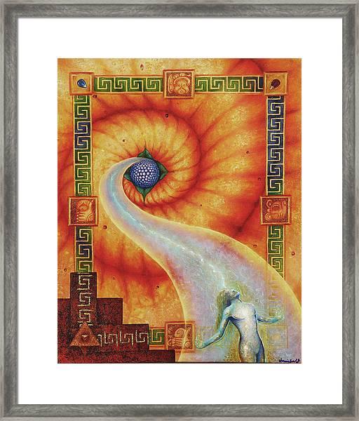 Amaizeing Grace Framed Print