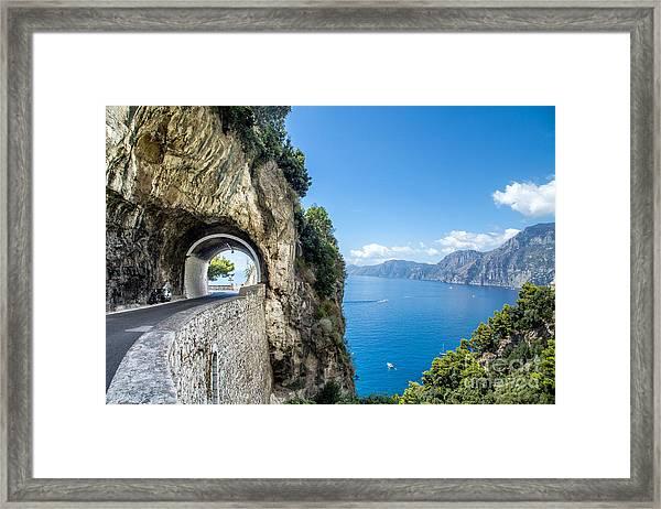 Amalfi Coast, Italy Framed Print